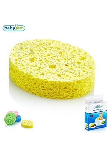 Baby Jem Babyjem Banyo Süngeri Selülozik  Sarı